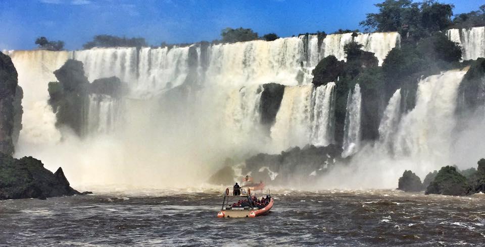 boat in falls