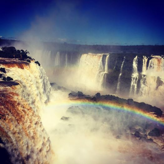 The Falls from the Brazilian side