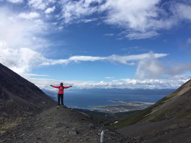 Martial Glaciar conquered