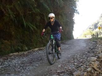Hitting the gravel road