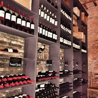 Plenty of wine to choose from at Narbonna