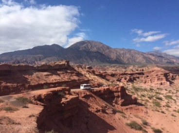 The road trip from Salta