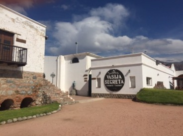 El Cafayate winery - their tasting wines left a lot to be desired