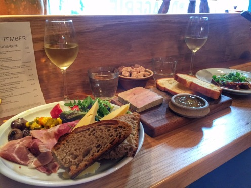 Lunch at La Fromagerie