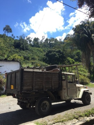 The old truck for transportation