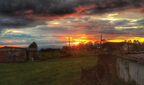 Sunset in Salento