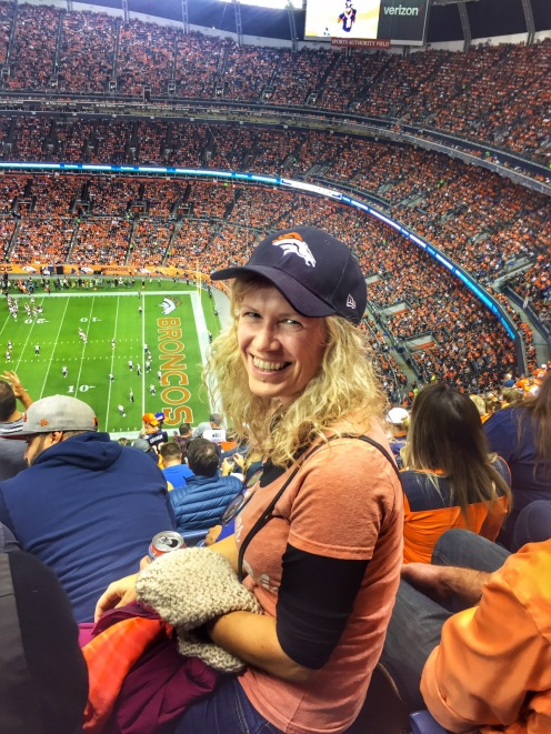 OUt to see the Broncos game