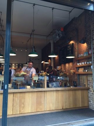 For the best coffe, try Monmouth Coffee at Borough Market