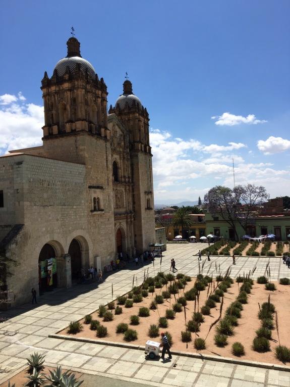 Overlooking the Santo Domingo