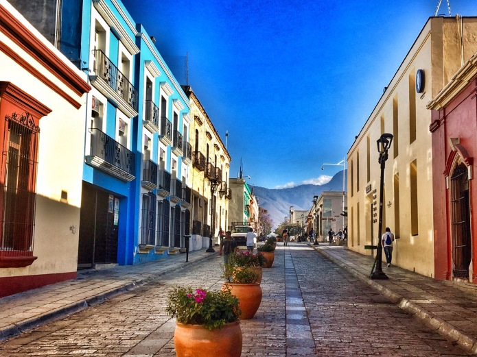 The colorful streets