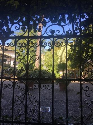 Looking in to the Corral de Conde
