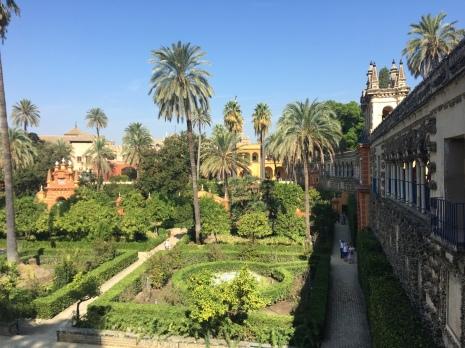 The gardens of the Alcazar