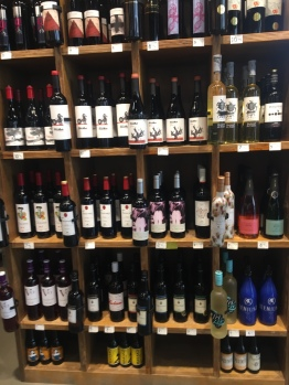 Wine, glorious wine and so much to choose from