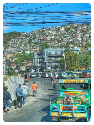 City og Baguio within the polluted basin